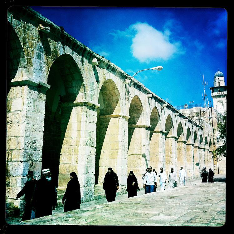 Jerusalem, Israel. September 20th 2011.The Temple Mount..