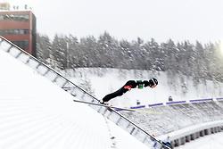February 8, 2019 - Lahti, Finland - Aaron Kostner competes during Nordic Combined, PCR/Qualification at Lahti Ski Games in Lahti, Finland on 8 February 2019. (Credit Image: © Antti Yrjonen/NurPhoto via ZUMA Press)