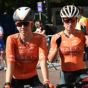 Rally Cycling (USA) photocall at Prudential RideLondon Classique at the Mall on 28 July 2018, London, UK