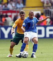 Foto Omega/Colombo<br /> 26/06/2006 Campionati Mondiali di Calcio 2006<br /> Ottavi di Finale <br /> Italia -Australia  <br /> nella foto : Alessandro Del Piero