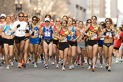 start of Marathon race to determine the USA Olympic team for 2008 in Beijing,