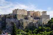 Greece, Athens, Acropolis hill