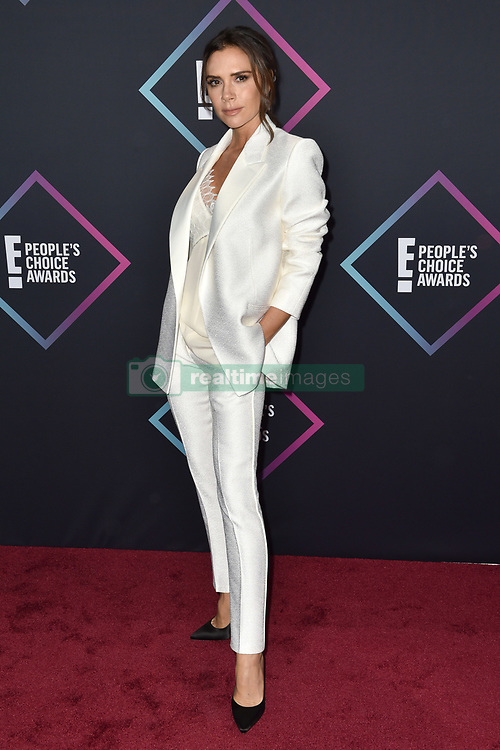 Victoria Beckham attends the People's Choice Awards 2018 at Barker Hangar on November 11, 2018 in Santa Monica, CA, USA. Photo by Lionel Hahn/ABACAPRESS.COM