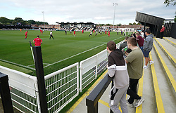 Action during the Head for Change and the Solan Connor Fawcett Trust charity match at Spennymoor Town FC, County Durham. Picture date: Sunday September 26, 2021.