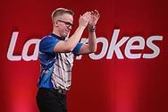 Dawson Murschell during the Ladrokes UK Open 2019 at Butlins Minehead, Minehead, United Kingdom on 1 March 2019.