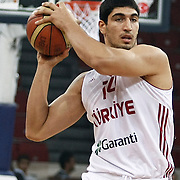 Turkey's Enes KANTER during their Istanbul CUP 2011match played Montenegro between Turkey at Abdi Ipekci Arena in Istanbul, Turkey on 25 August 2011. Photo by TURKPIX