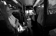 Donna, a veteran and recovering alcoholic, on her three hour one-way commute on busses and trains to class at a Washington State community college. Donna works part time at the Veterans Affairs Hospital in Seattle and is training to become an occupational therapist assistant, to help other veterans.