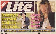 Pete Doherty / London Lite / August 2007