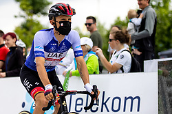 Rafal MAJKA of UAE TEAM EMIRATES in blue jersey during the 5th Stage of 27th Tour of Slovenia 2021 cycling race between Ljubljana and Novo mesto (175,3 km), on June 13, 2021 in Slovenia. Photo by Matic Klansek Velej / Sportida