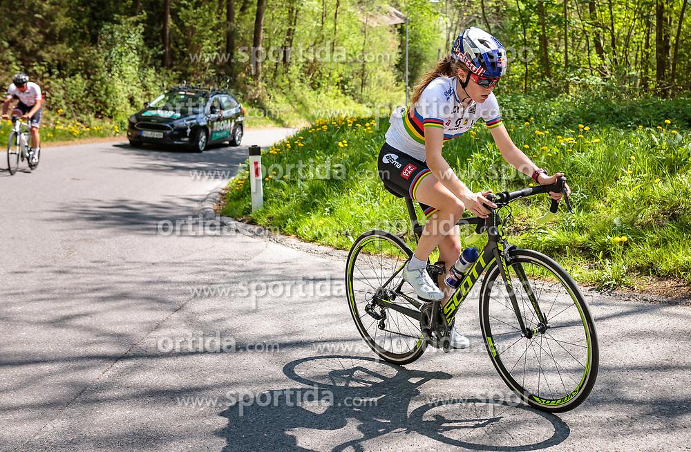 25.04.2018, Innsbruck, AUT, ÖRV Trainingslager, UCI Straßenrad WM 2018, im Bild Laura Stigger (AUT) // during a Testdrive for the UCI Road World Championships in Innsbruck, Austria on 2018/04/25. EXPA Pictures © 2018, PhotoCredit: EXPA/ JFK