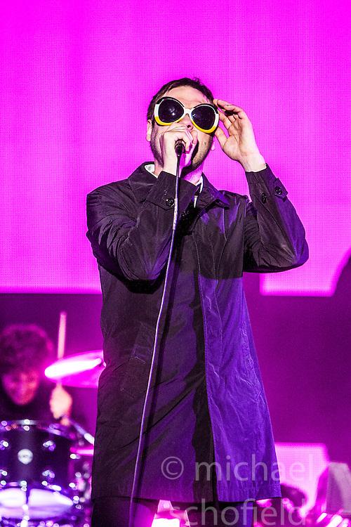 Kasabian headline the In New Music We Trust stage.<br /> Sunday at Glasgow Green, BBC Radio 1's Big Weekend Glasgow 2014.