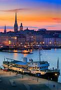 Stockholm's Slussen by Night