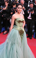 Araya A. Hargate at the 'Behind The Candelabra' gala screening at the Cannes Film Festival  Tuesday 21 May 2013