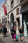 Bond Street Shoppers, central London