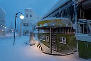 Akureyri, winter time.