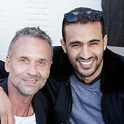 NLD/Amsterdam/20120601 - Uitreiking Talkies Terras Awards 2012, Eric Kuster en Badr Hari