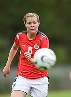 Mari Solstadt. Norway-Sweden, WU17 Four Nation's Tournament. Eerikkilä, Finland, 25.5.2007. Photo: Jussi Eskola