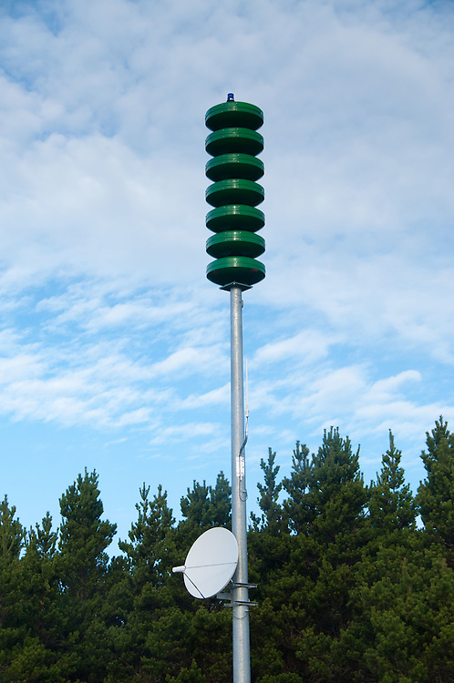 Weather Sensor at Loomis Lake State Park, Long Beach, Washington, US