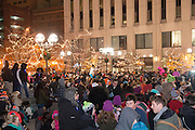 Dayton Holiday Festival in downtown Dayton, Ohio.