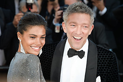 Tina Kunakey and Vincent Cassel attending the premiere of the film Les Filles du Soleil during the 71st Cannes Film Festival in Cannes, France on May 12, 2018. Photo by Julien Zannoni/APS-Medias/ABACAPRESS.COM