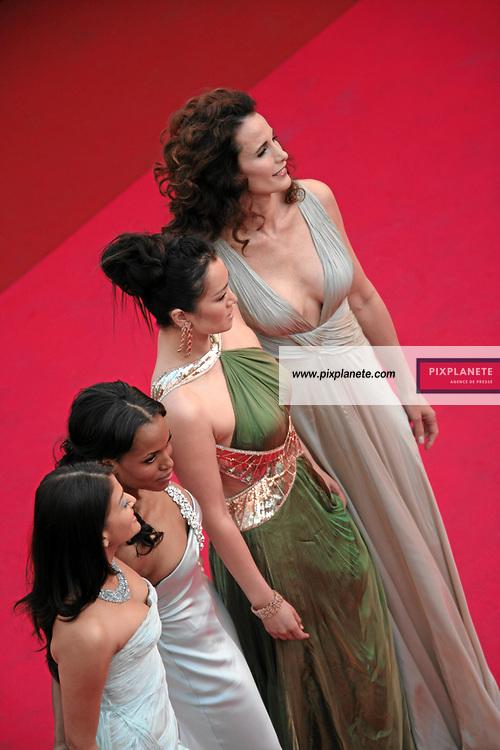 Andy Mc Dowell - Gong Li - Kerry Washington - Ouverture du 60 ème Festival de Cannes - 16/05/2007 - JSB / PixPlanete