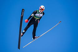 March 2, 2018 - Lahti, FINLAND - 180302 Magnus Krog of Norway during a Ski jumping training session ahead of the FIS Nordic Combined World Cup on March 02, 2018 in Lahti. .Photo: Fredrik Varfjell / BILDBYRN / kod FV / 150068 (Credit Image: © Fredrik Varfjell/Bildbyran via ZUMA Press)