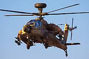 Israeli Air force (IAF) Apache AH-644 Longbow (Seraph) Helicopter in flight