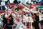 East Longmeadow hosts Belchertown in girls basketball at East Longmeadow High School in East Longmeadow on December 21, 2017. (Chris Marion / The Republican)