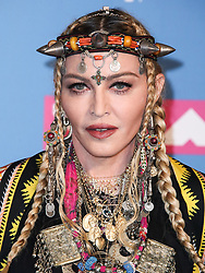 Singer Madonna poses backstage during the 2018 MTV Video Music Awards held at the Radio City Music Hall on August 20, 2018 in Manhattan, New York City, New York, United States. 20 Aug 2018 Pictured: Madonna. Photo credit: Xavier Collin/Image Press Agency / MEGA TheMegaAgency.com +1 888 505 6342