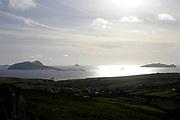 The Blasket Island viewed from  Slea Head on the Dingle Pennisula in County Kerry Ireland.<br /> Photo Don MacMonagle - macmonagle.com