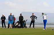 Andrew McCormack on the 12th tee during Round 4 of The West of Ireland Open Championship in Co. Sligo Golf Club, Rosses Point, Sligo on Sunday 7th April 2019.<br /> Picture:  Thos Caffrey / www.golffile.ie