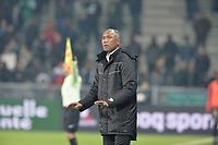 Antoine Kombouare (entraineur guingamp)<br /> <br /> FOOTBALL : Saint Etienne vs Guingamp - Ligue 1 - 11/12/2016<br /> <br /> Norway only