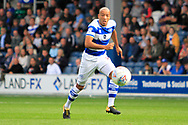 Queens Park Rangers defender Alex John-Baptiste (20) during the EFL Sky Bet Championship match between Queens Park Rangers and Burton Albion at the Loftus Road Stadium, London, England on 23 September 2017. Photo by Richard Holmes.
