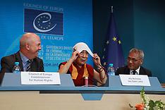 Strasbourg: Dalai Lama in Council of Europe, 17 September 2016