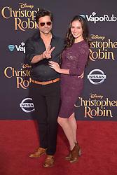 July 30, 2018 - Burbank, Kalifornien, USA - John Stamos mit Gattin Caitlin McHugh bei der Premiere des Kinofilms 'Christopher Robin' in den Walt Disney Studios. Burbank, 30.07.2018 (Credit Image: © Future-Image via ZUMA Press)