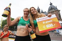20160529 NED: Beachvolleybal Eredivisie, Arnhem<br />Marloes Wesselink en Laura Bloem