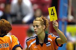 17-06-2000 JAP: OKT Volleybal 2000, Tokyo<br /> Nederland - Italie 2-3 / Erna Brinkman