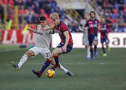 February 24, 2019 - Bologna, Italy - Filip Helander during Serie A 2018-2019 match between Bologna v Juventus, in Bologna, on February 24, 2019  (Credit Image: © Loris Roselli/NurPhoto via ZUMA Press)