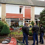 NLD/Huizen/20060106 - Brand Akkerweg 22 Huizen, brand in droogkap