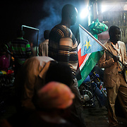 Celebrations started on the day prior independence, people gathered in the streets to celebrate<br /> <br />  South Sudan celebrates its 2nd anniversary after gaining independence from Sudan in 2011, following over 30 years of conflict. <br /> <br /> South Sudan and Sudan's relations are still tense due to oil export issues