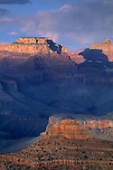 Afternoon light on the Grand Canyon from Yavapai Point, South Rim, Grand Canyon National Park, ARIZONA
