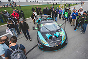 January 24-27, 2019. IMSA Weathertech Series ROLEX Daytona 24. #48 Paul Miller Racing Lamborghini Huracan GT3, GTD: Bryan Sellers, Ryan Hardwick, Corey Lewis, Andrea Caldarelli