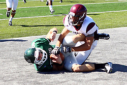 08 September 2012:   during an NCAA division 3 football game between the Alma Scots and the Illinois Wesleyan Titans which the Titans won 53 - 7 in Tucci Stadium on Wilder Field, Bloomington IL