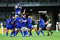 Rugby Union - 2019 Rugby World Cup - Pool B: South Africa vs. italy <br /> <br /> Dean Budd of Italy at Shizouka Stadium Ecopa.<br /> <br /> COLORSPORT/LYNNE CAMERON