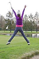 CAPELLE aan de IJSSEL - Juichen op de Capelse Golfclub. FOTO KOEN SUYK