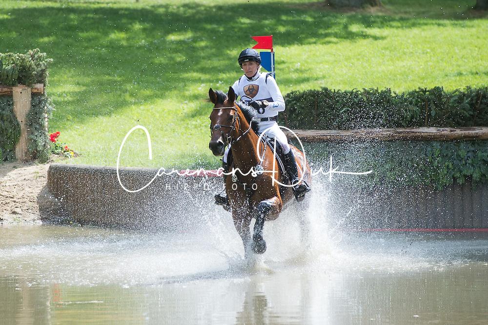 Klimke Ingrid, (GER), Horseware Hale Bob<br /> CIC3* Luhmuhlen 2015<br /> © Hippo Foto - Jon Stroud<br /> 20/06/15