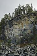 Rockwall of Reisa River | Reisa National Park, Norway