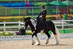 Minneci Barbara, BEL, Barilla<br /> Ind. - Grade II - Dressage <br /> Rio 2016 Paralympic Games<br /> © Hippo Foto - Jon Stroud<br /> 15/09/16