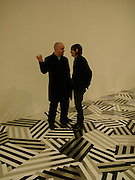 Ross Sinclair and Jim Lambie, Turner Prize 2005. Tate Britain.   5 December  2005. ONE TIME USE ONLY - DO NOT ARCHIVE  © Copyright Photograph by Dafydd Jones 66 Stockwell Park Rd. London SW9 0DA Tel 020 7733 0108 www.dafjones.com