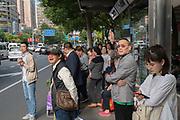 Bus stop Shanghai